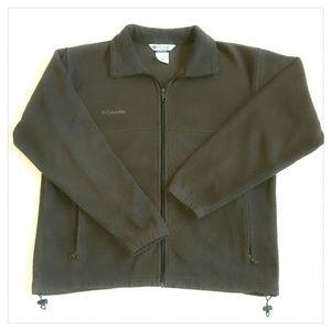 Mens COLUMBIA Full Zip Sweater Fleece Jacket